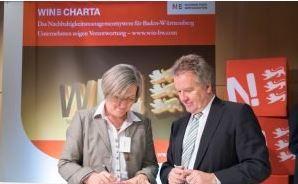 Unternehmensberaterin Bettina Schmidt ist Mitglied der WIN CHARTA